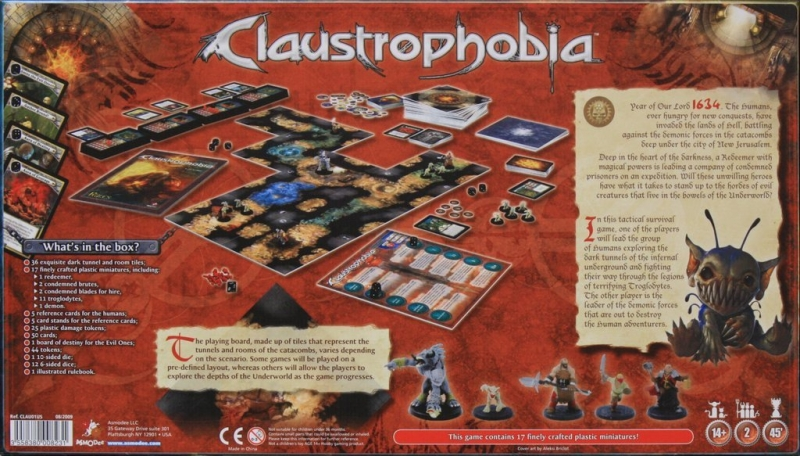 Claustrophobia | GeekStop Games
