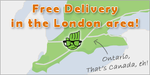Free delivery or pick-up in the London Ontario area.