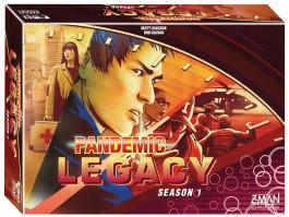 Pandemic Legacy: Season 1 (Red Box)   GeekStop Games