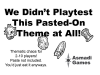 We Didn't Playtest This Pasted-On Theme At All! ?>