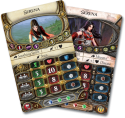 Descent: Journeys in the Dark (Second Edition) - Labyrinth of Ruin: Good and bad allies.