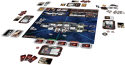 Battlestar Galactica: The game layout.