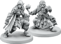 Descent: Journeys in the Dark (Second Edition) - The Trollfens: Plastic miniatures.