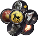 A Game of Thrones: The Board Game (Second Edition): Order tokens.