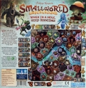 Small World Underground: Back of the box.