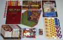 "Belfort: Fresh out the box: everything you get with the game. Photo by BGG reviewer <a href=""http://www.boardgamegeek.com/user/EndersGame"">EndersGame</a> and used with permission."