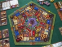 "Belfort: Board at the end of a 4 player game. Photo by BGG reviewer <a href=""http://www.boardgamegeek.com/user/EndersGame"">EndersGame</a> and used with permission."