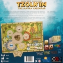 Tzolk'in: The Mayan Calendar: Back of the box.