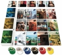 Splendor: Card layout.