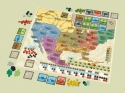 Power Grid deluxe: Europe/North America: The board.