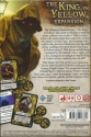 Arkham Horror: The King in Yellow Expansion: Back of the box.