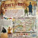 Ticket to Ride: Back of the box.