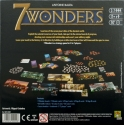 7 Wonders: Back of the box.
