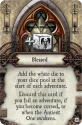 Elder Sign: Unseen Forces: Blessing card.