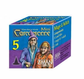 Carcassonne: Mage & Witch (mini expansion #5)
