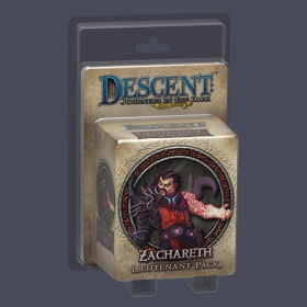 Descent: Journeys in the Dark (Second Edition) - Zacareth Lieutenant Pack