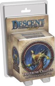 Descent: Journeys in the Dark (Second Edition) - Tristayne Olliven Lieutenant Pack
