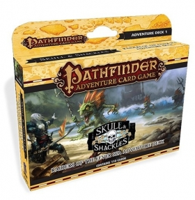Pathfinder Adventure Card Game: Skulls & Shackles - Raiders of the Fever Sea Adventure Deck