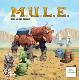 M.U.L.E. (MULE) The Board Game
