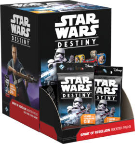 Star Wars: Destiny – Spirit of Rebellion Booster Pack Gravity Feed Box