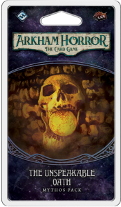 Arkham Horror: The Card Game – The Unspeakable Oath Mythos Pack
