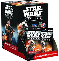 Star Wars: Destiny - Awakenings Booster Pack Gravity Feed Box